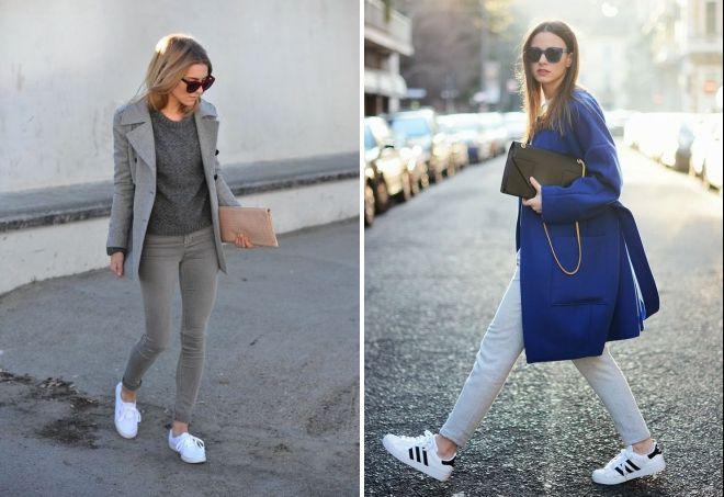 с чем носить светло серые джинсы