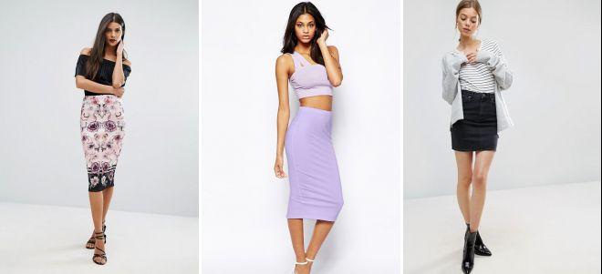 модные классические юбки