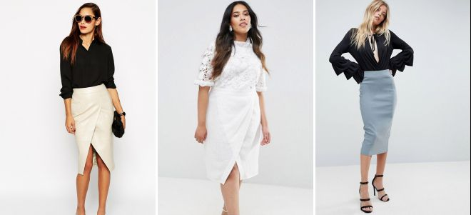 блузки для классических юбок