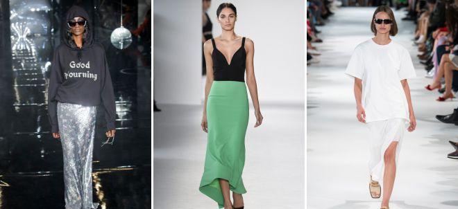 классические юбки 2018