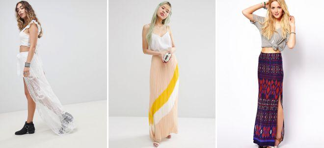 классическая юбка в пол