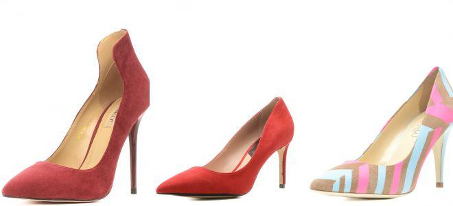 женские классические туфли на каблуке