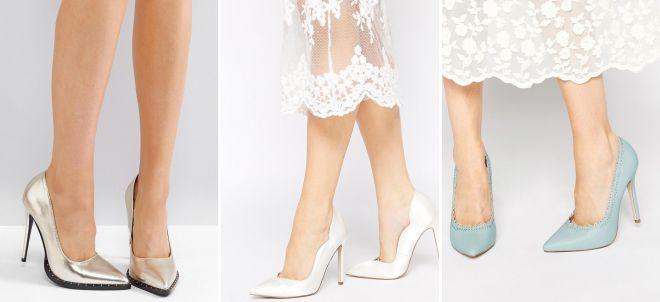 женские классические туфли на среднем каблуке