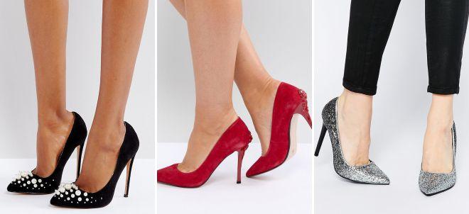 классические туфли на каблуке