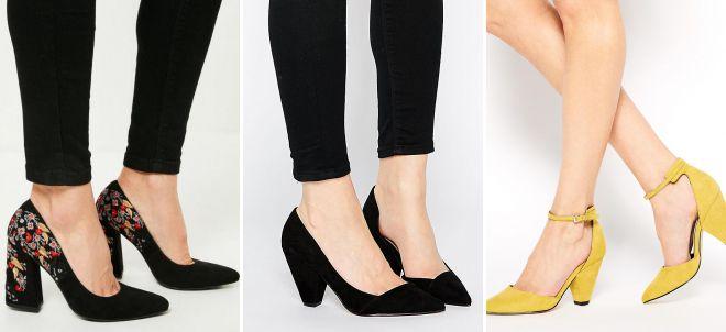 женские классические туфли лодочки