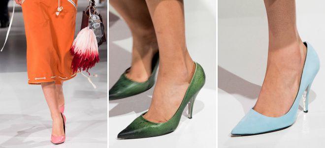 классические туфли лодочки