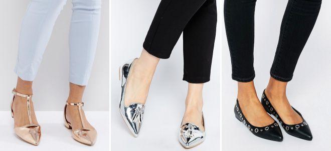 женские кожаные классические туфли