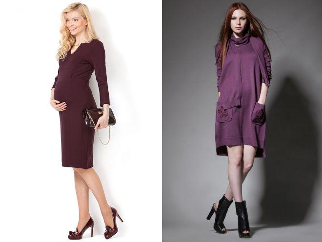 da7dd3d1d90 Самые красивые платья для беременных женщин – зимние