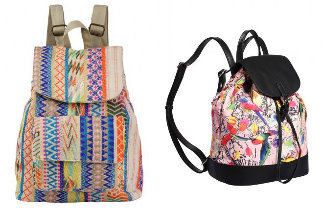 текстильные рюкзаки 2018