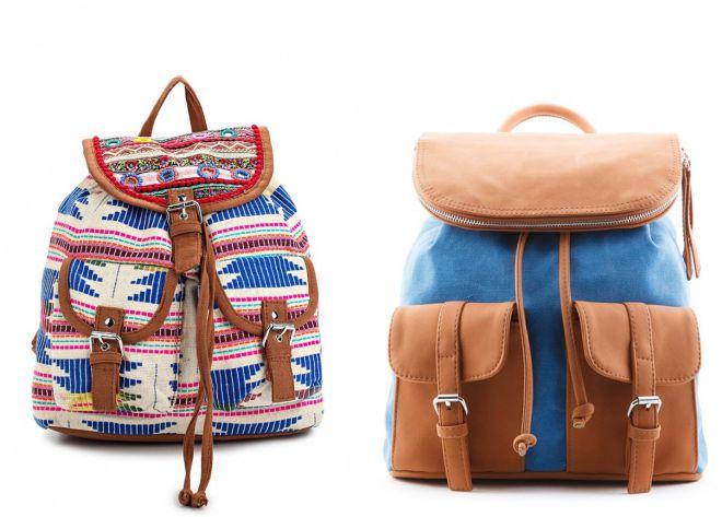 комбинированные рюкзаки 2018