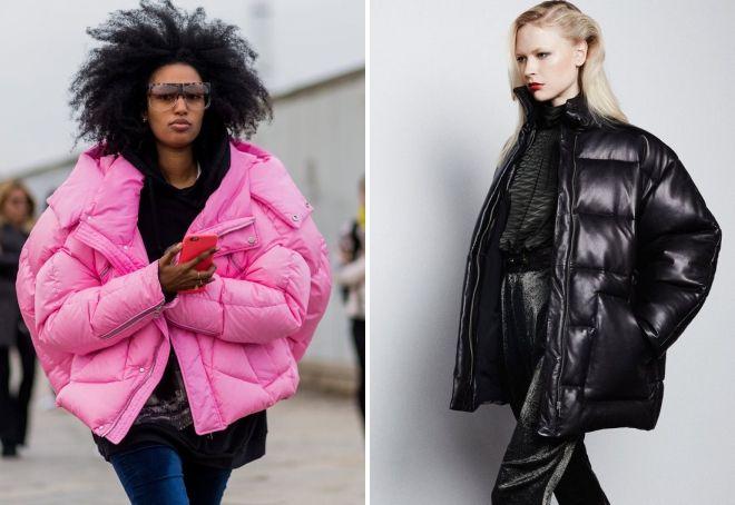 стеганая куртка в стиле oversize