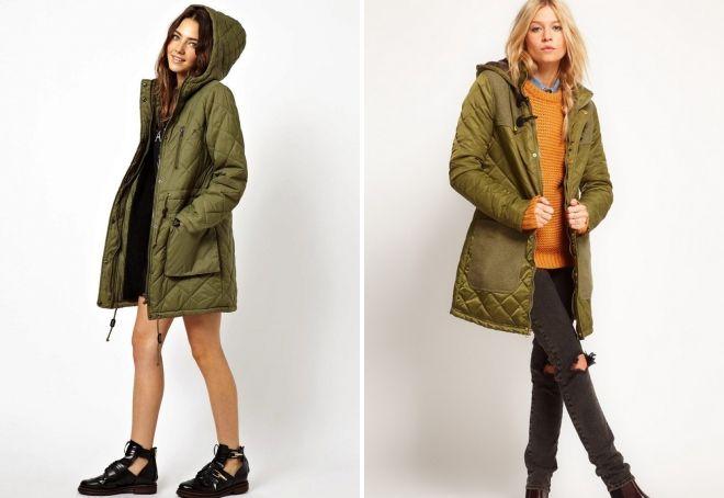 женские стеганые куртки 2019