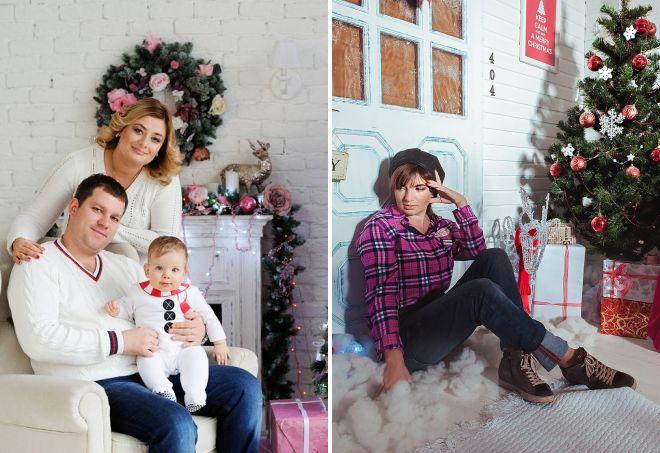 8a30b999296ff Лучшие образы для новогодней фотосессии – фэмили лук для семьи, в ...