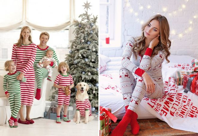 c2431306e483 Лучшие образы для новогодней фотосессии – фэмили лук для семьи, в ...