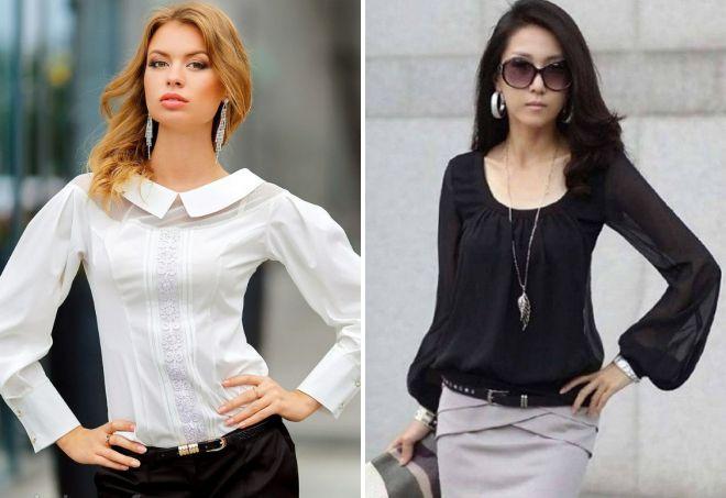 9fe3e11074d Красивые блузки – женские из шифона