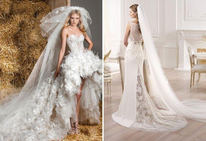 самые дорогие и красивые свадебные платья