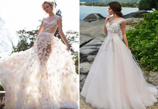 Красивые невесты на сексуальных нарядах