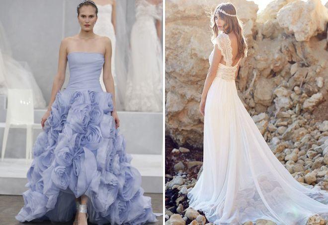 красивые белые платья на свадьбу