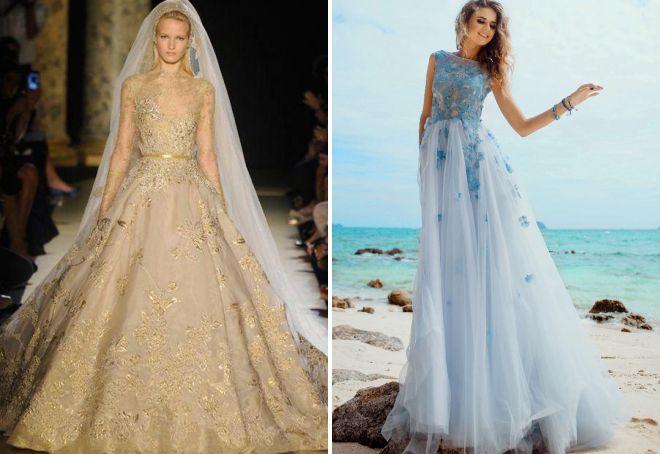 красивые пышные платья на свадьбу