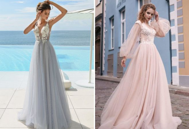 самые красивые свадебные платья 2018