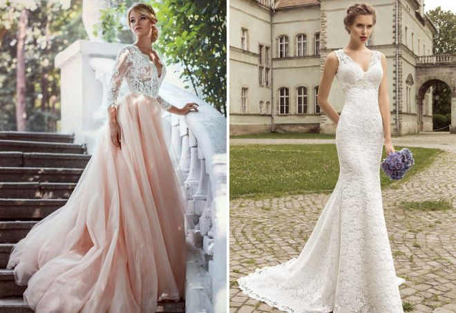 самые красивые платья на свадьбу