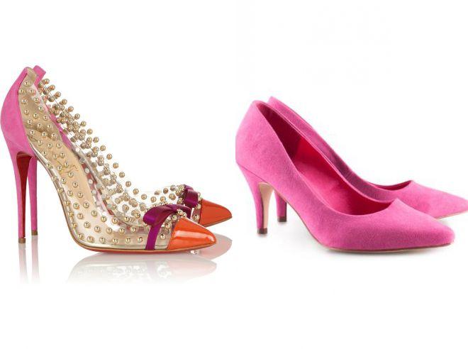 красивые туфли лодочки