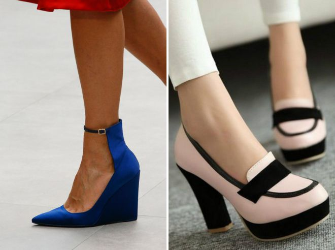 красивые весенние туфли