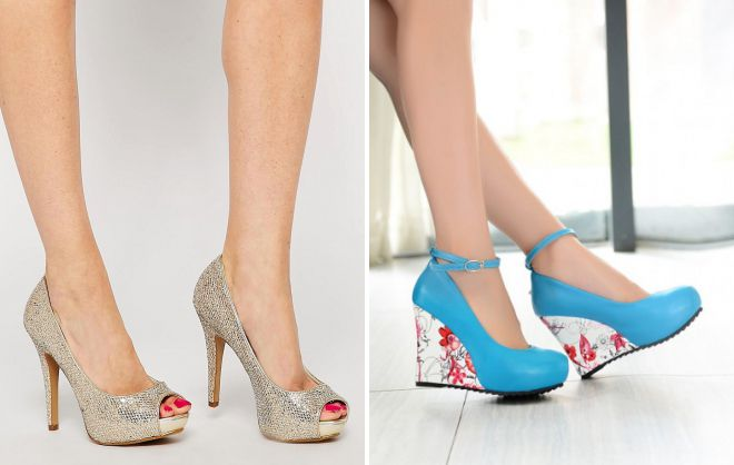 красивые летние туфли