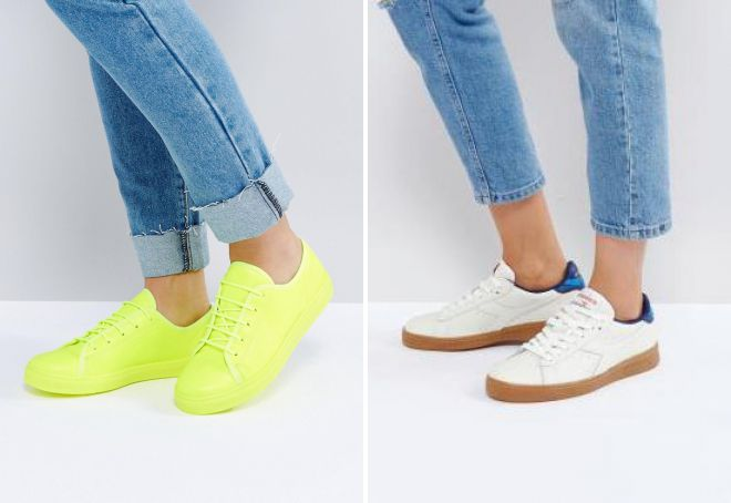 низкие кроссовки 2018