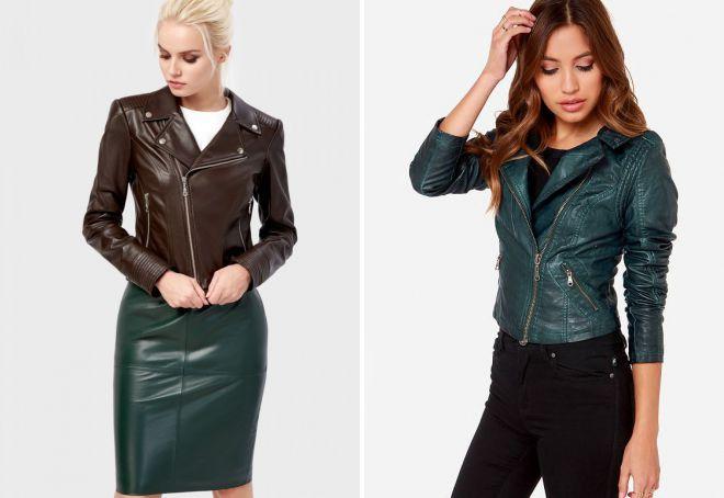 женские короткие весенние куртки