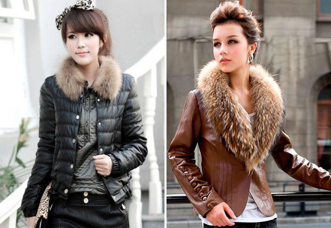 женские короткие куртки 2018