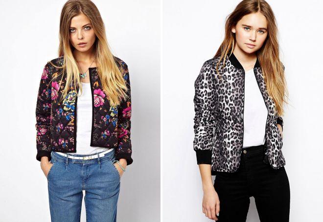 женские короткие легкие куртки