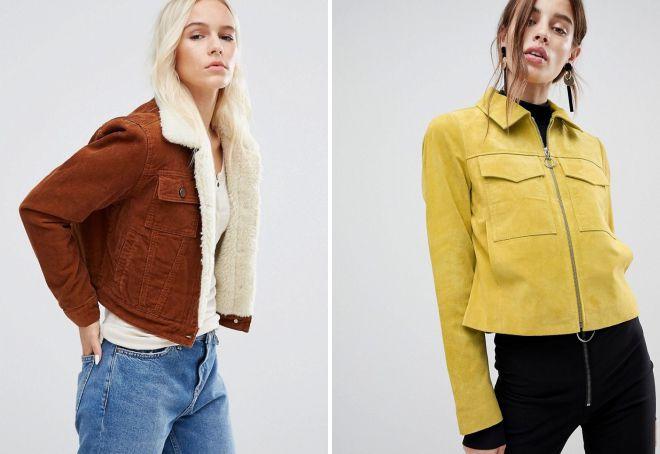 модные женские короткие куртки