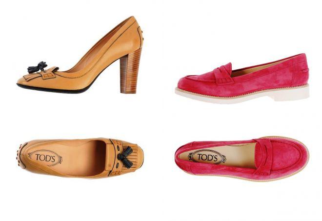обувь tods