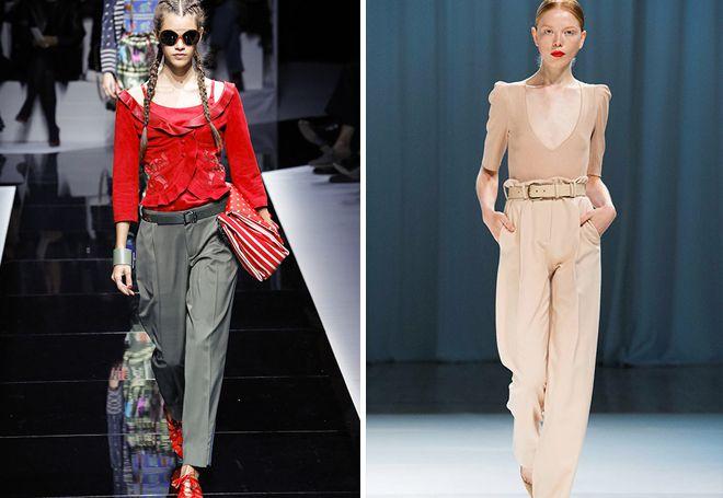 женские классические брюки со стрелками