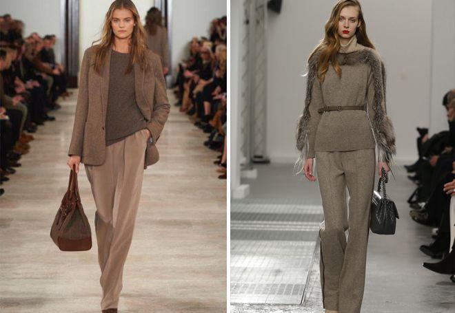 модные женские классические брюки