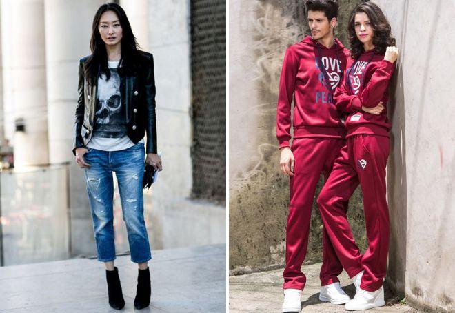 c0a20fcd3d7b Стиль унисекс – джинсы, шорты, нижнее белье, пиджак, прически ...
