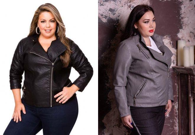 куртка косуха для полных женщин