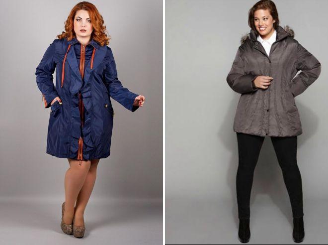 какие куртки подойдут полным девушкам небольшого роста