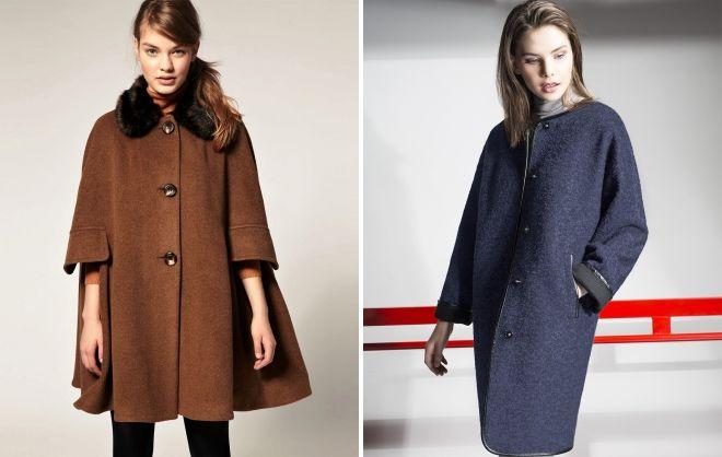 модели женских пальто