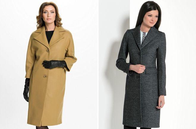 модели классического пальто