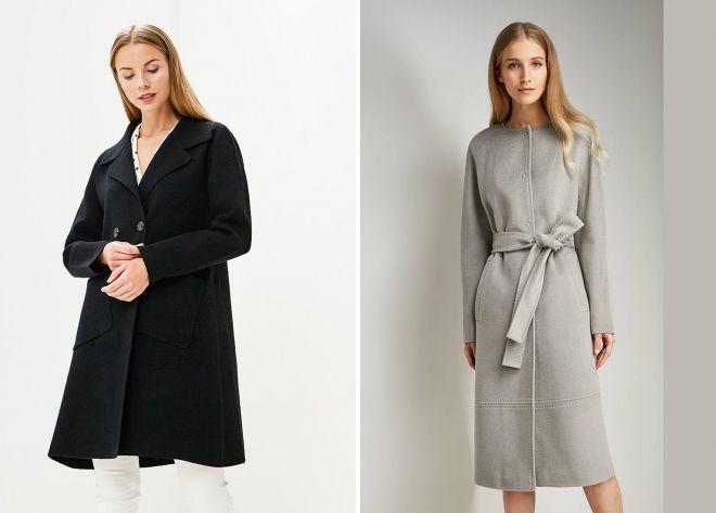 модели пальто 2018 2019