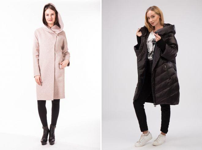 модели осеннего пальто для женщин