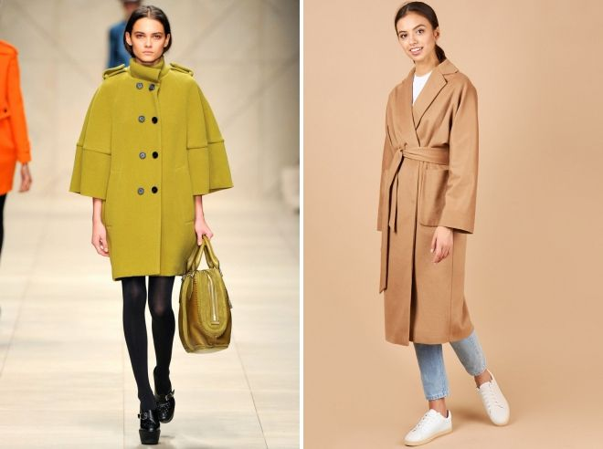 модели пальто для невысоких