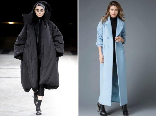 модные модели пальто 2018 2019