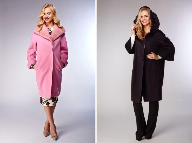 модели зимнего пальто с капюшоном