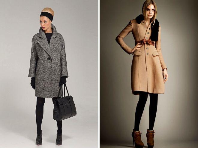 модные модели пальто