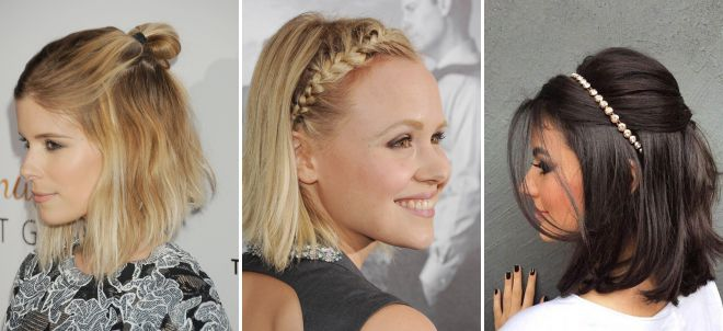 прически на короткие волосы на 2018 год