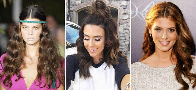 прически на длинные волосы 2018