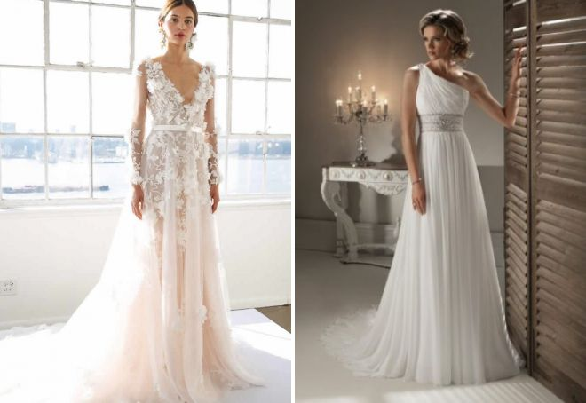 eb8cb325dfc0138 Лучшие свадебные образы невесты 2017 – красивые и элегантные платья ...